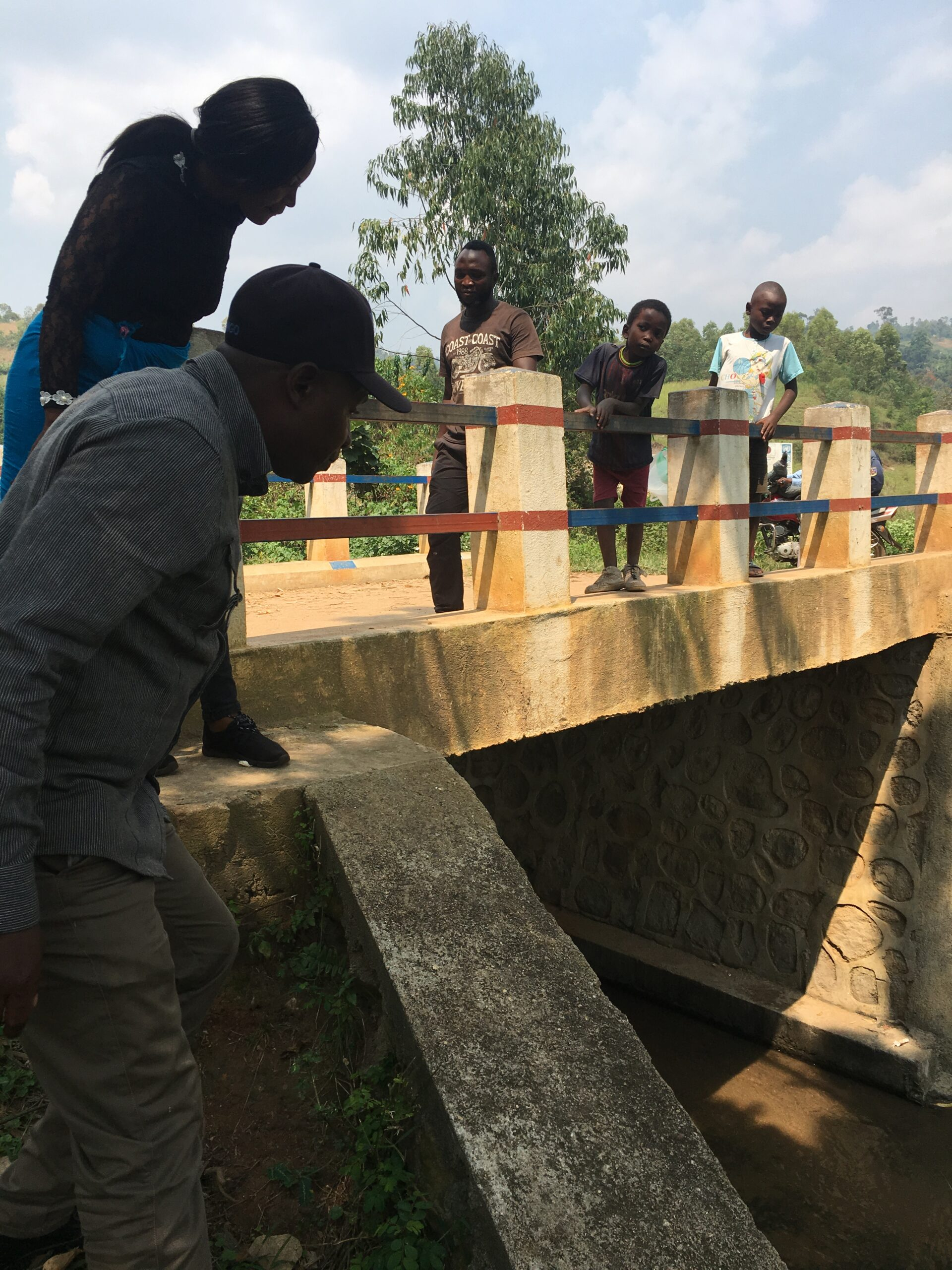 Bridge built in conjuction with the Japanese government and UNDP